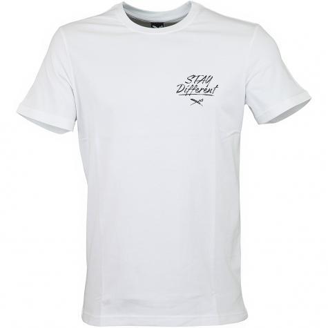 Iriedaily T-Shirt Big Bad Finger weiß