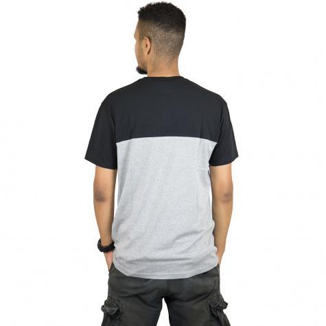 Iriedaily T-Shirt Block Pocket schwarz/weiß