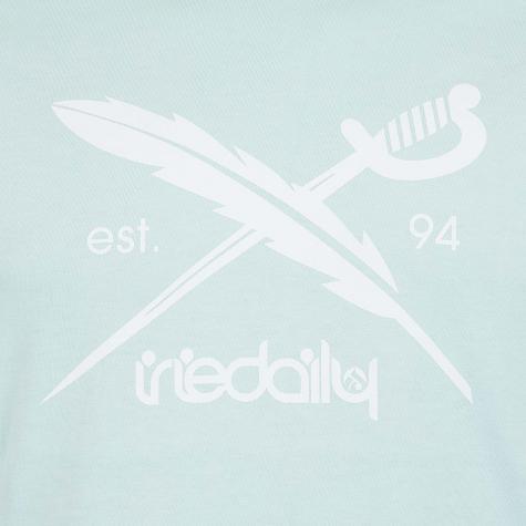Iriedaily T-Shirt Daily Flag mint