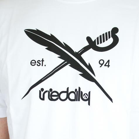 Iriedaily Daily Flag T-Shirt weiß
