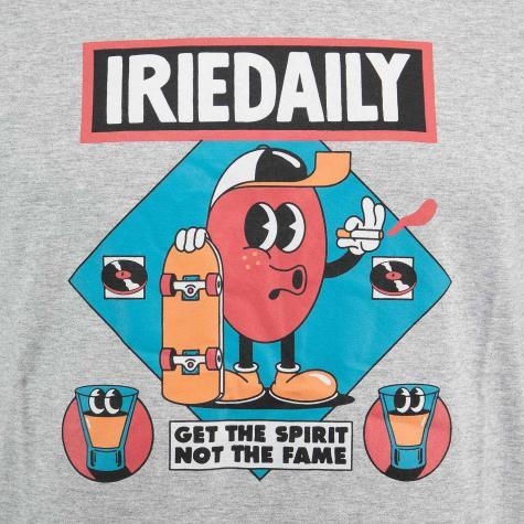Iriedaily T-Shirt Get The Spirit grau