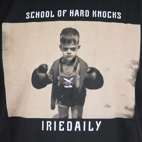 Iriedaily T-Shirt Hard Knock schwarz