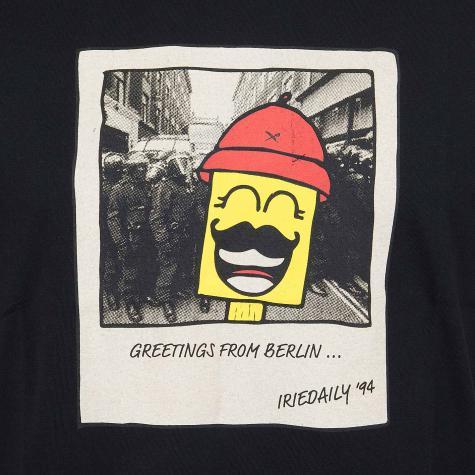 Iriedaily T-Shirt Polarice schwarz