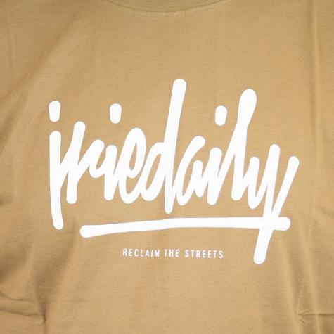 Iriedaily T-Shirt Tagg Ahead caramel