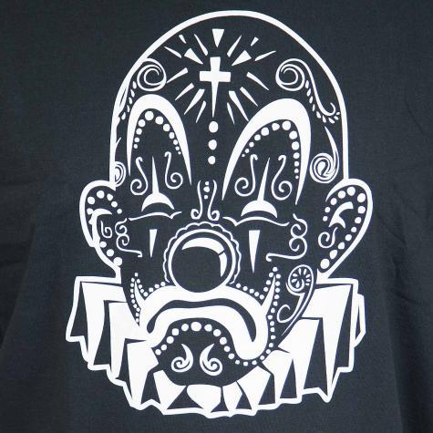 Joker Brand T-Shirt Mexico Clown schwarz