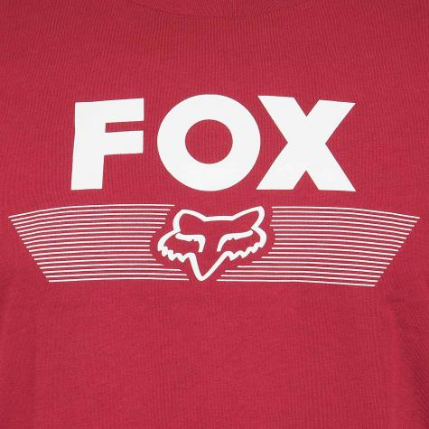 Fox Head Kinder T-Shirt Kids Aviator rot