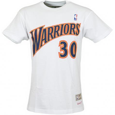 Mitchell & Ness T-Shirt Golden State Warriors Curry weiß