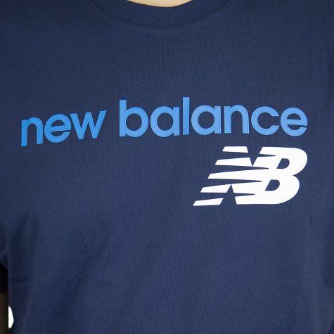 New Balance T-Shirt Athletics WC dunkelblau