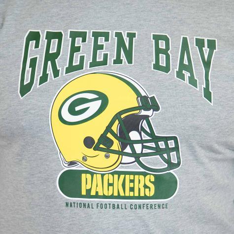 New Era T-Shirt NFL Archie Greenbay Packers grau