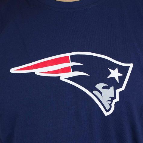 New Era T-Shirt Team Logo New England Patriots dunkelblau