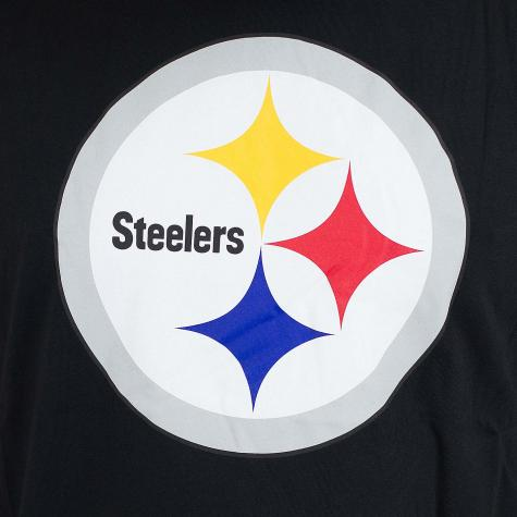 New Era T-Shirt Team Logo Pittsburgh Steelers schwarz