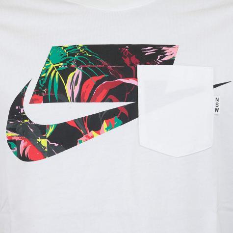 Nike T-Shirt Block weiß/multi