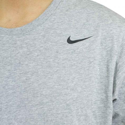 Nike T-Shirt Dri-Fit 2.0 grau/schwarz