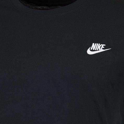 Nike T-Shirt Embroidered Futura schwarz/weiß