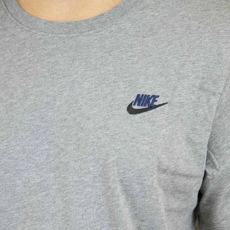 Nike T-Shirt Embroidered Futura carbon/schwarz