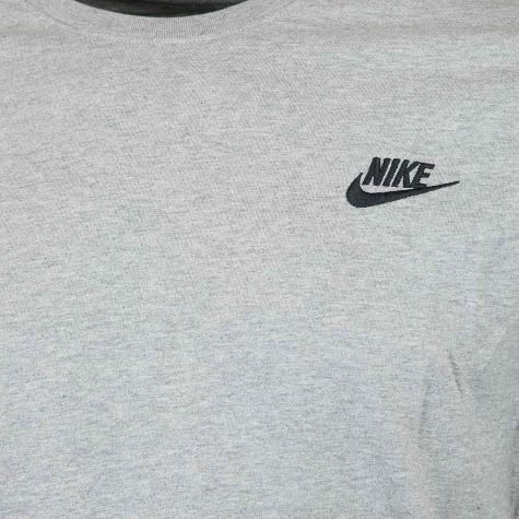 Nike T-Shirt Embroidered Futura grau