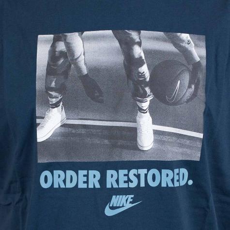 Nike T-Shirt Preseason Order dunkelblau