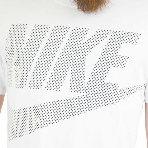 Nike T-Shirt weiß/schwarz