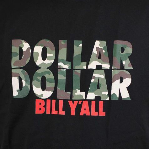Mister Tee T-Shirt Dollar schwarz