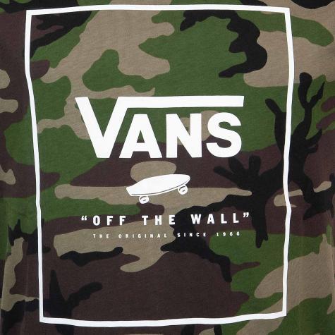 Vans T-Shirt Print Box camo