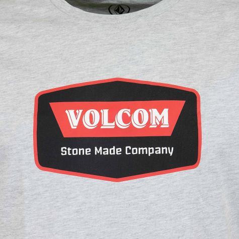 Volcom T-Shirt Cresticle grau