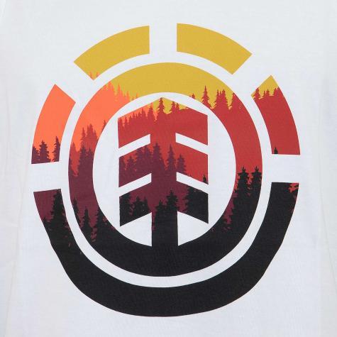 Element Tanktop Glimpse Icon weiß