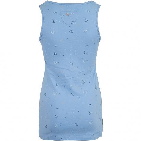 Ragwear Damen Tanktop Kick Organic blau