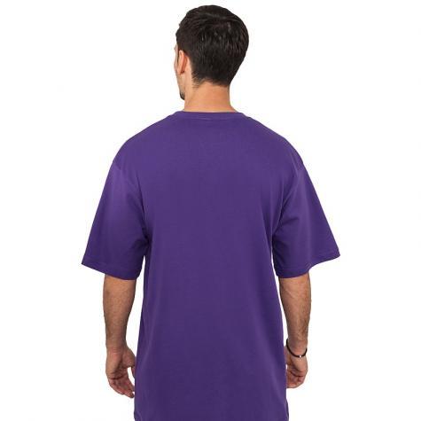 T-shirt Urban Classics Tall purple