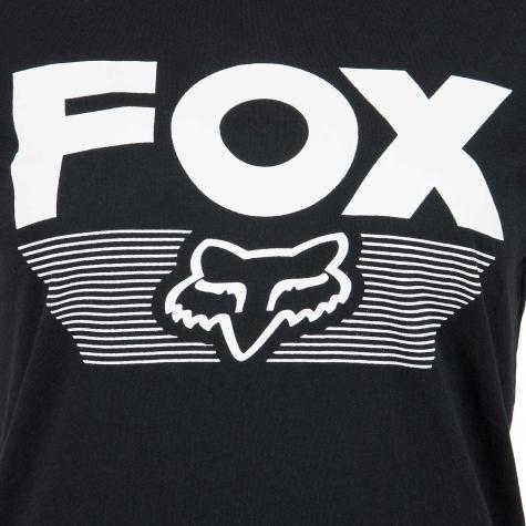 Fox Damen T-Shirt Ascot schwarz