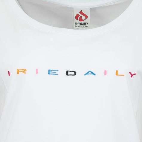 Iriedaily Damen T-Shirt Iriecolor weiß