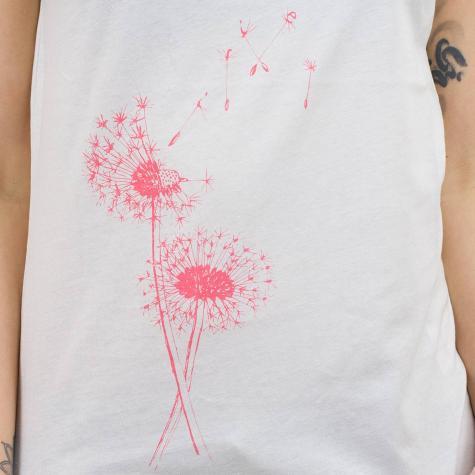 Iriedaily Damen T-Shirt Pusteblume offweiß