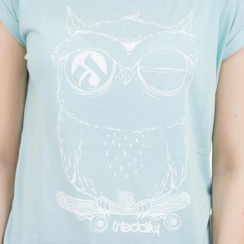 Iriedaily Damen T-Shirt Skateowl 2 mint
