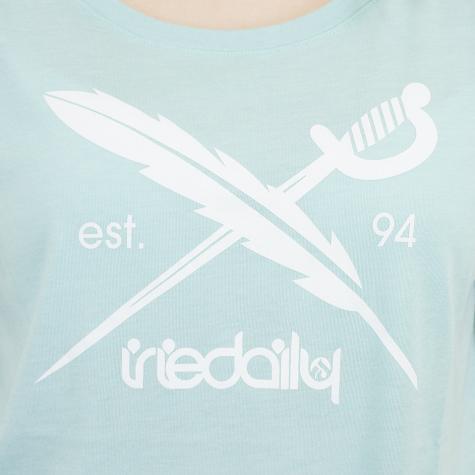Iriedaily Damen T-Shirt The Flag mint