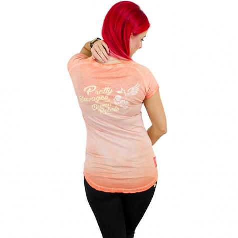 Yakuza Premium Damen T-Shirt 2438 orange