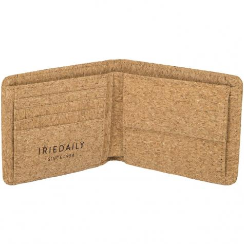 Iriedaily Geldbörse Cork Flag hellbraun