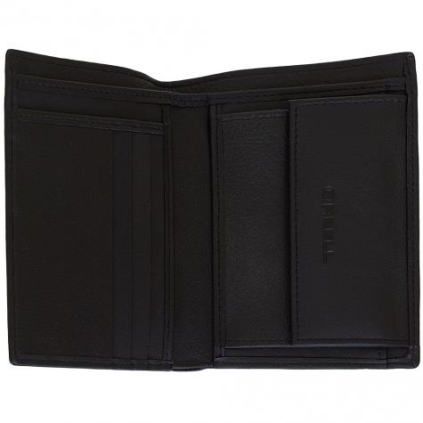 Reell Logo Wallet schwarz