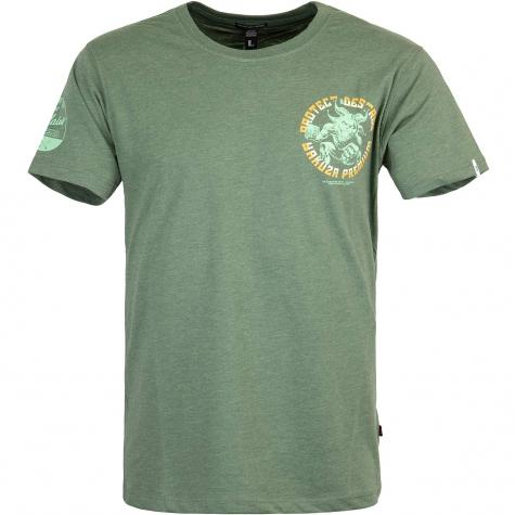 Yakuza Premium Herren T-Shirt 3000 grün