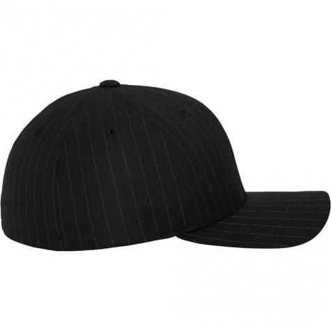 Uprock Flexfit Cap Pinstripe schwarz