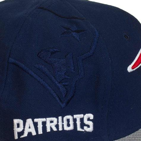 New Era 9Fifty Snapback Cap NFL Sideline New England Patriots dunkelblau
