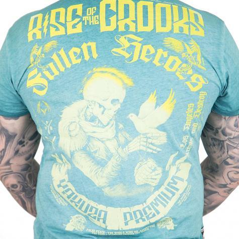 Yakuza Premium T-Shirt Vintage 303 grün