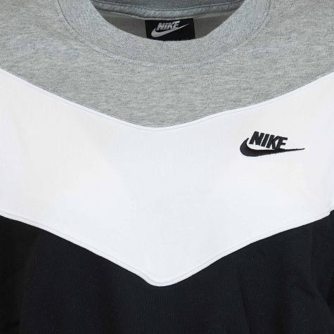 Nike Damen Sweatshirt Heritage schwarz/weiß/grau