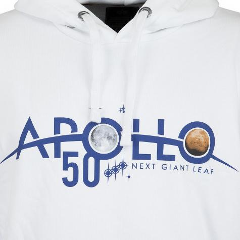 Alpha Industries Hoody Apollo 50 Patch weiß
