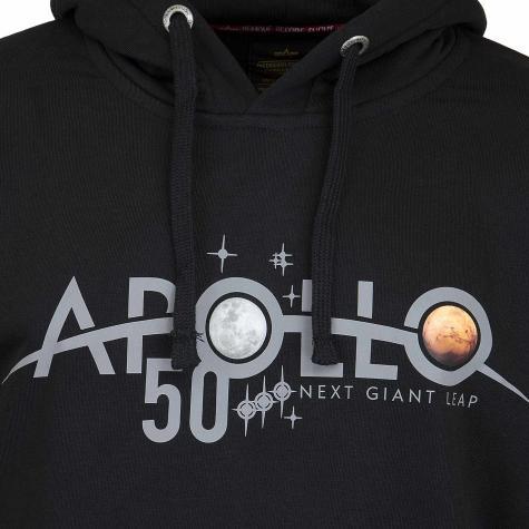 Alpha Industries Hoody Apollo 50 Reflective black