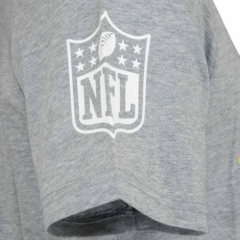 New Era T-Shirt NFL Large Graphic Packers grau