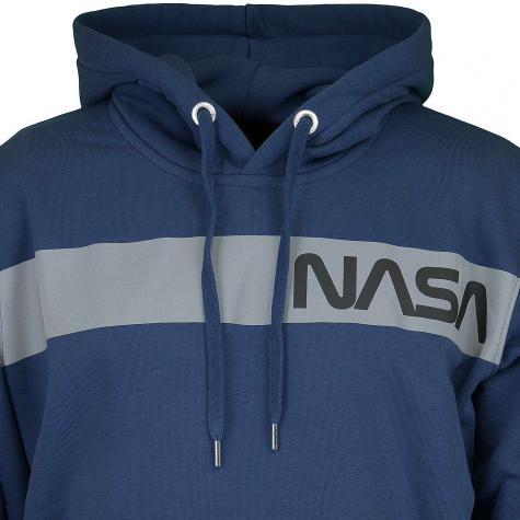 Alpha Industries Hoody NASA RS dunkelblau