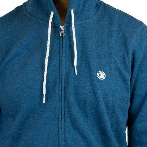 Element Cornell Zip-Hoody blau
