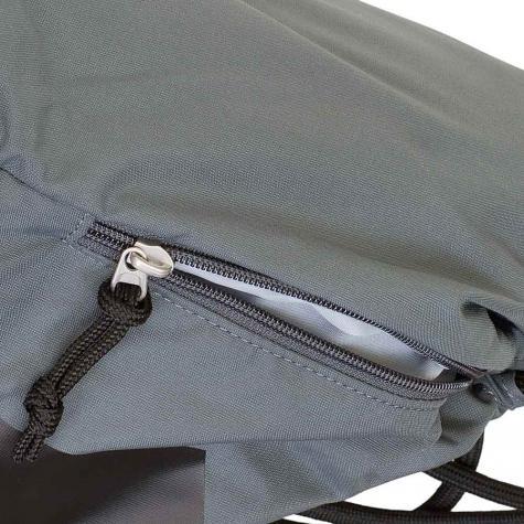 Nike Gym Bag Heritage Gymsack dunkelgrau/schwarz