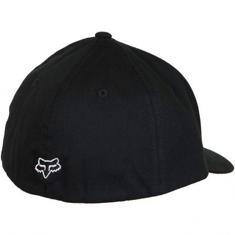Fox Head Kinder Flexfit  Cap Flex 45 schwarz/weiß