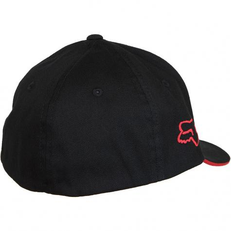 Fox Head Kinder Flexfit Cap Honda Flex schwarz