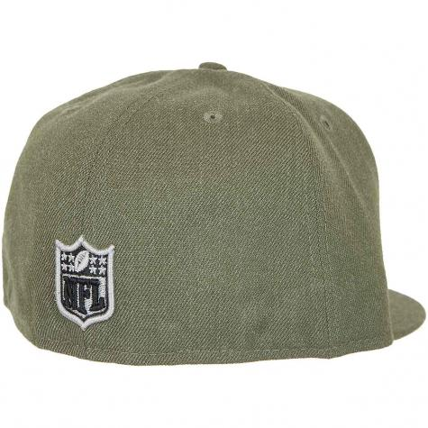 New Era 59Fifty Fitted Cap NFL Heather Seahawks oliv